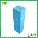 Rectángulo de papel cosmético de embalaje del papel de arte de Foldble