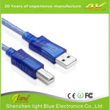 直角の小型USBケーブルを詰めているOEM