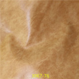 Qualidade superfinas Material PU macio de mulheres de mármore cabedais de couro