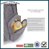 Morral del bolso del pañal del bebé con los bolsillos Sh-17070503