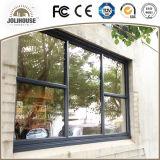 Populäres Puder-beschichtendes örtlich festgelegtes Aluminiumfenster für Verkauf