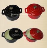 エナメルの鋳鉄の中国からの小型Cocotteのカセロールの製造業者