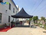 5X5m schwarzes Pagode-Zelt für Partei-Hochzeits-Ereignis