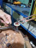 Máquina de calefacción modificada para requisitos particulares de inducción que cubre con bronce con la bobina