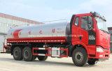 FAW 6X4 20 T 물 트럭 20 Kl 거리 스프레이어 유조 트럭