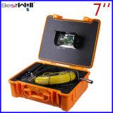 Сделайте камеру водостотьким Cr110-7g осмотра трубы 23mm видео- с экраном 7 '' цифров LCD с кабелем стекла волокна от 20m до 100m