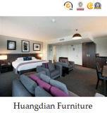 合板のベニヤの現代ホテルの寝室の家具(HD853)
