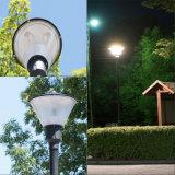 La luz superior IP65 del poste del LED impermeabiliza la iluminación del jardín