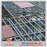 Cofragem em betão com forjador modular em aço com superfície de oxidação