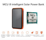 High Efficiency 10000mAh Mini Solar Power Bank 9000mAh