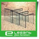 明確なカラーのネストのガラス側面表