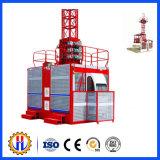 Elevador do edifício da construção para edifícios elevados
