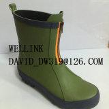 La mode Rainboots en caoutchouc coloré des femmes