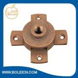 Bronze da proteção de relâmpago do enterramento/ar de alumínio Rod de Ridge/base terminal de ar