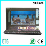 10.1 opuscolo dell'affissione a cristalli liquidi di pollice TFT video per fare pubblicità