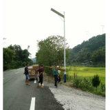 60W integriertes neues Cer anerkannter Shenzhen aller in einem LED-Solarstraßenlaterne