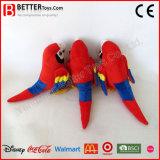 Het zachte Stuk speelgoed van de Vogel van de Pluche vulde Dierlijke Ara voor Jonge geitjes/Kinderen