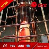 El vodka, whiskey, brandy, la destilería de ron de destilación de cobre el equipo sigue en venta