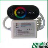 Carcasa de plástico RF REMOTE CONTROLADOR LED RGB Totalmente táctil