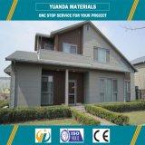 Innovador diseño de estructuras de acero prefabricados para varias casas