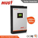 Vendita calda sulla griglia e fuori dall'invertitore 2kVA 3kVA 4kVA 5kVA di energia solare del legame di griglia con il regolatore solare 60A della carica di MPPT e la funzione parallela nel mini sistema solare