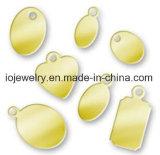 De in reliëf gemaakte Juwelen van de Tegenhanger van de Markering van de Hond
