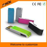 Movimentação plástica de venda quente da pena do USB da movimentação misturada do flash do USB da cor