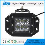 18W accesorios del coche LED luz del panel con Chip CREE LED