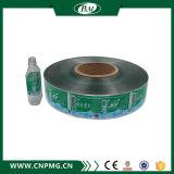Escrituras de la etiqueta coloridas modificadas para requisitos particulares alta calidad de OPP para las botellas redondas
