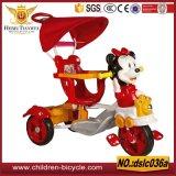 La seguridad al por mayor embroma el triciclo de /Baby con la barra de la maneta