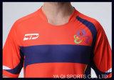 習慣熱販売の安いOEMはフットボールのワイシャツメーカーの昇華サッカージャージーを作った