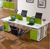 Stazione di lavoro moderna della Tabella dell'ufficio di personale delle sedi del muro divisorio 2 (NS-NCD179)