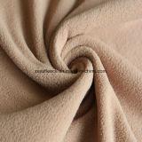 ベージュカラーのAntipillingの極度の柔らかい羊毛ファブリック