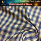 Polyester-kationisches Check-Gewebe für Futter, Two-Tone Check (TN3028)