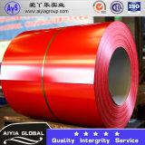 0.5*1000/1219/1250mm hanno galvanizzato la bobina d'acciaio ricoperta colore