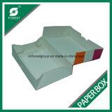 Grado Alimenticio Donuts Embalaje caja de papel de color con PE recubierto