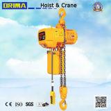 훅 (조정 유형)를 가진 3t Brima 높은 Girde 전기 체인 호이스트