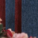Tissu classique de rideau en arrêt total de pistes verticales de Chenille (14F0062)