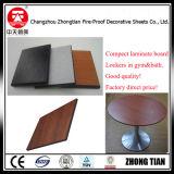 El panel fenólico del laminado del compacto del pegamento