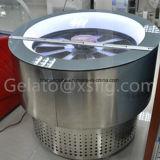 Eiscreme-Gefriermaschine-Schaukasten-Eiscreme-schaufelnde Bildschirmanzeige