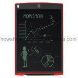 A instrução fornece o escritório do equipamento tabuleta do memorando da escrita do LCD de 12 polegadas
