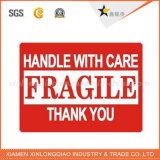 Etiqueta autocolante adesivos frágil /Etiqueta da caixa
