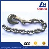Polacco dell'acciaio legato saldato frustando catena