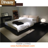 Re elegante moderno Queen Size Leather Bed di migliore vendita