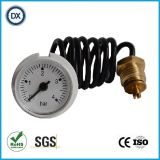 005 haarartiges Edelstahl-Druckanzeiger-Manometer/Messinstrumente Anzeigeinstrument-