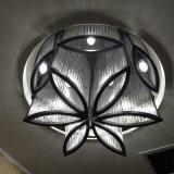 Forma hotel de flor decorativa de la lámpara colgante de cristal