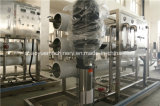 Parte superior de osmose inversa do equipamento de tratamento de água potável