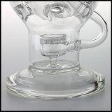 De in het groot Rokende Waterpijp van het Glas van de Waterpijp van Pyrex van het Ei van Faberge van de Recycleermachine