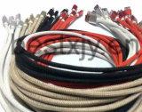 нейлон 5V 2A изолировал кабель USB молнии 8 Pin для телефона Samsung, iPhone, iPad