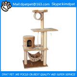 Haustier spielt Typ-und Katze-Anwendungs-weichen Katze-Baum für Import